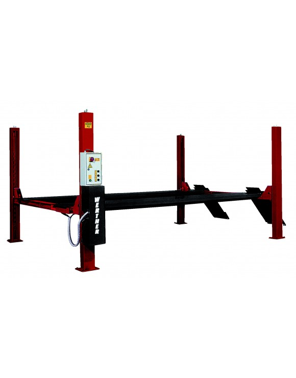 Elevador 4 columnas electro-hidráulico (4TN) mod. 443