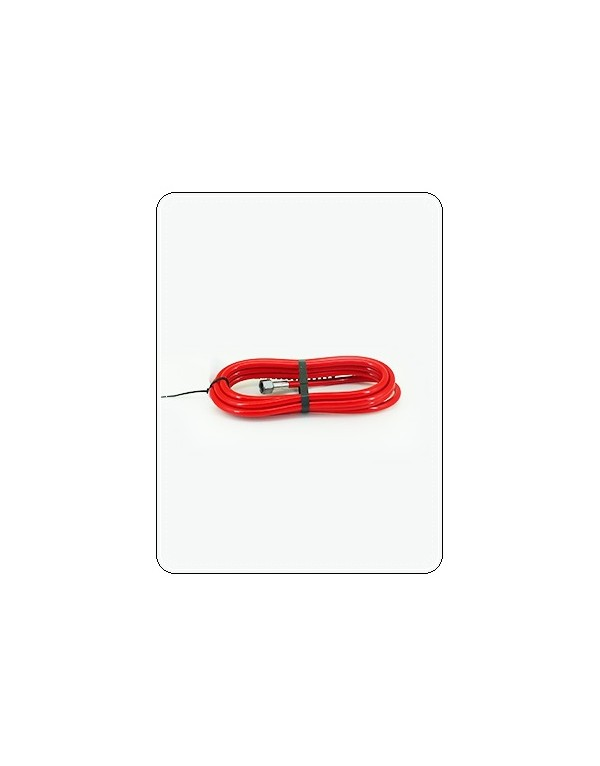 "LATIGUILLO 3/8"" L 5m CONFORT ROJO"