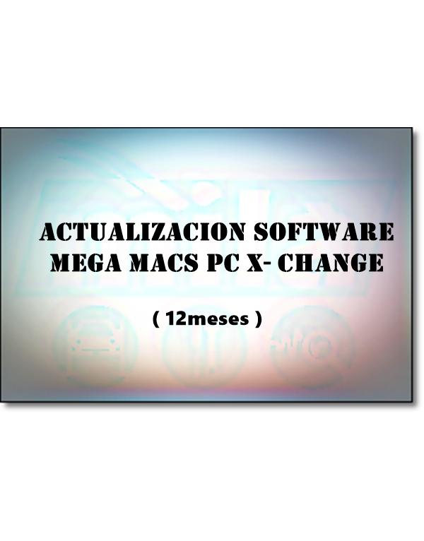 ACTUALIZACION SOFWARE MEGA MACS PC x-Change