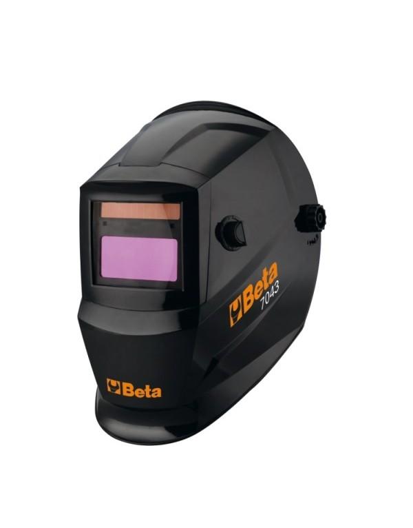 MÁSCARA LCD AUTO-OSCURECIBLE, PARA SOLDADURA DE ELECTRODOS, MIG/MAG, TIG Y PLASMA. 7043