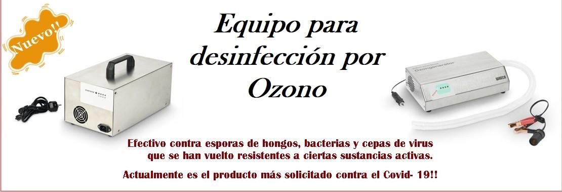 Desinfectante por Ozono